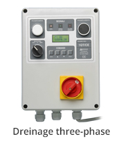 aerre2 water drainage three-phase electrical control panel