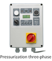 aerre2 Pressurization three-phase electrical control panel