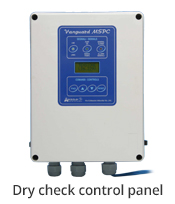 aerre2 Dry check electrical control panel