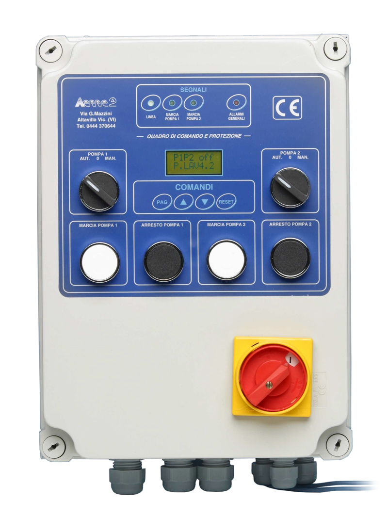 aerre2 Electric control panel type Q2PTD-CE