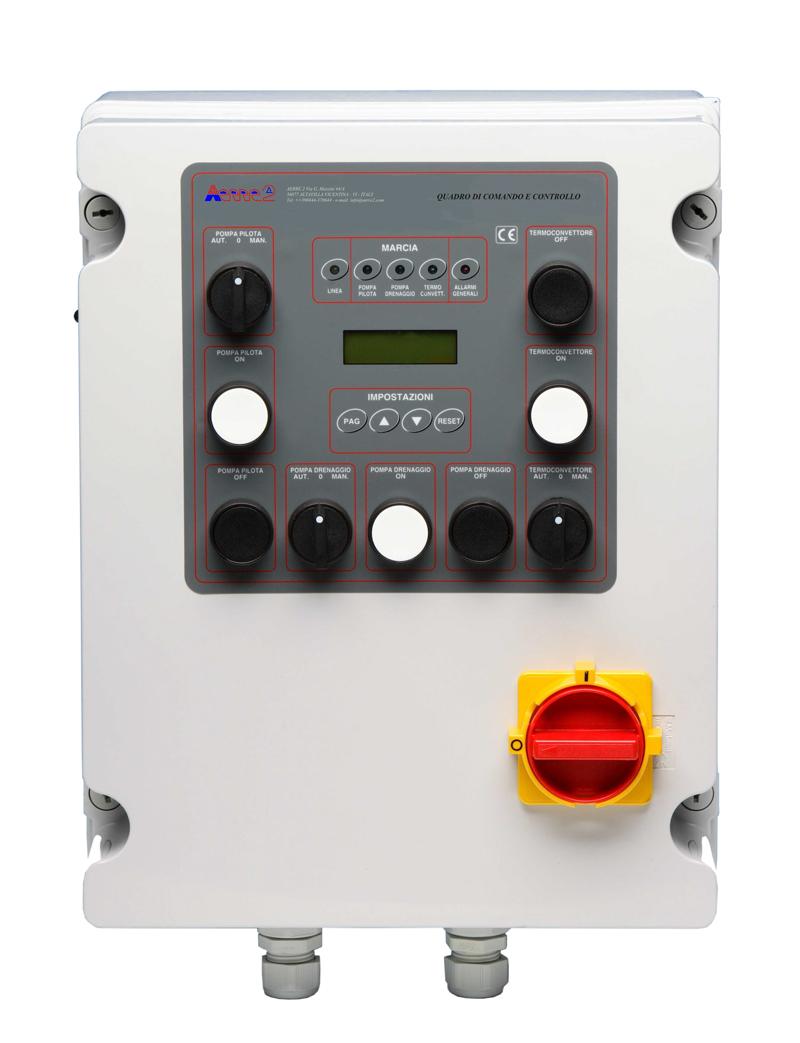 aerre2 Electric contrl panel type Q3PTD-CE