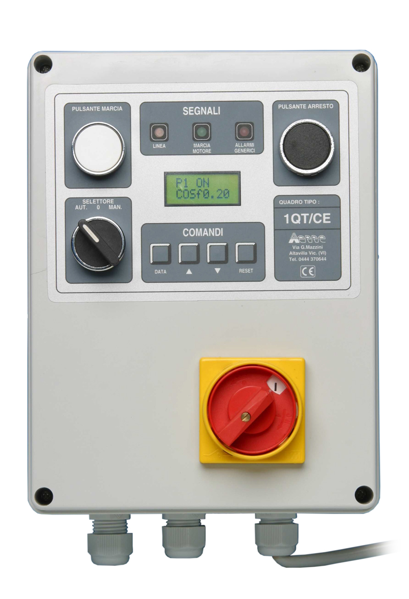 aerre2 electrical control panel type 1QMD-CE