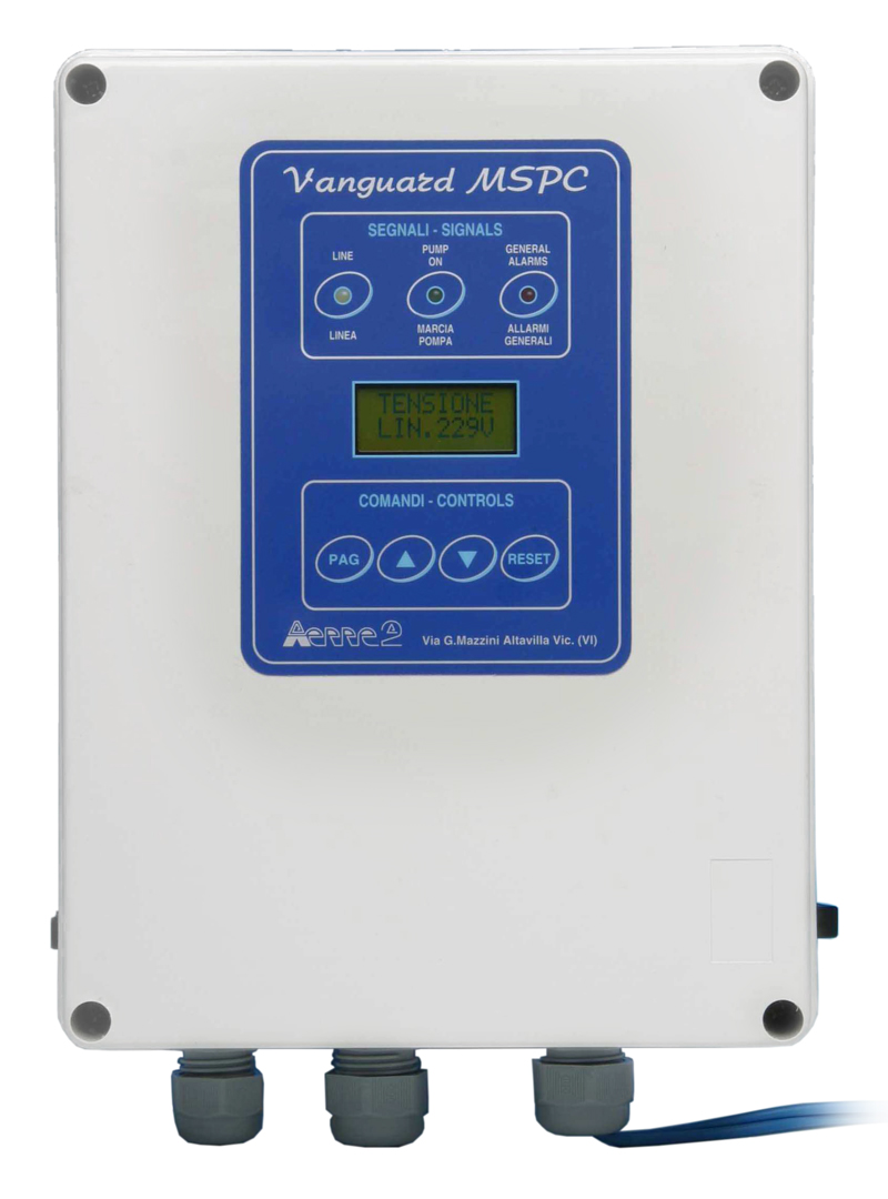 aerre2 electrical control panel vanguard